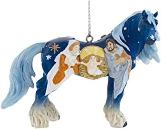 Westland Giftware Horse of A Resin Ornament, Nativity