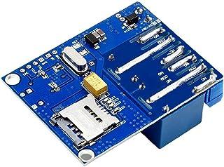 2 Kanal Relämodul Shield fjärrkontroll växel med GSM SMS-antenn för växthus syre pump Industriverktyg