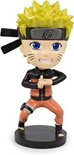 4.75 Inches Tall Desk Toy Accessories JUST FUNKY Naruto Shippuden Collectible PVC Plastic Bobblehead Action Figure Statue Anime Gifts for Home Office Decor