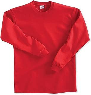 Big Boys' Long Sleeve Cotton T-Shirt