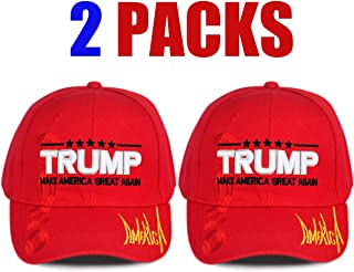 Trump Pence 2020 for President Unisex Adult Baseball Caps Adjustable Sandwich Caps Jeans Caps Adjustable Denim Trucker Cap