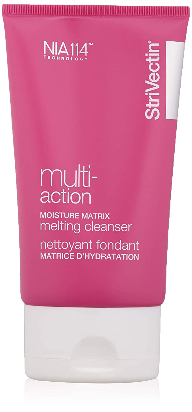 困惑晩餐大脳ストリベクチン StriVectin - Multi-Action Moisture Matrix Melting Cleanser 118ml/4oz並行輸入品