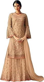 Amazon in: Sharara - Dress Material / Ethnic Wear: Clothing