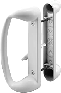 Prime-Line C 1176 Sliding Glass Door Handle Set – Replace Old or Damaged Door Handles Quickly and Easily – Painted White D...