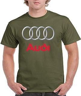Audi T Shirt - Audi Men Shirt - Audi 3D Logo Tshirt - Audi A4-A6-A7-R8 T Shirt