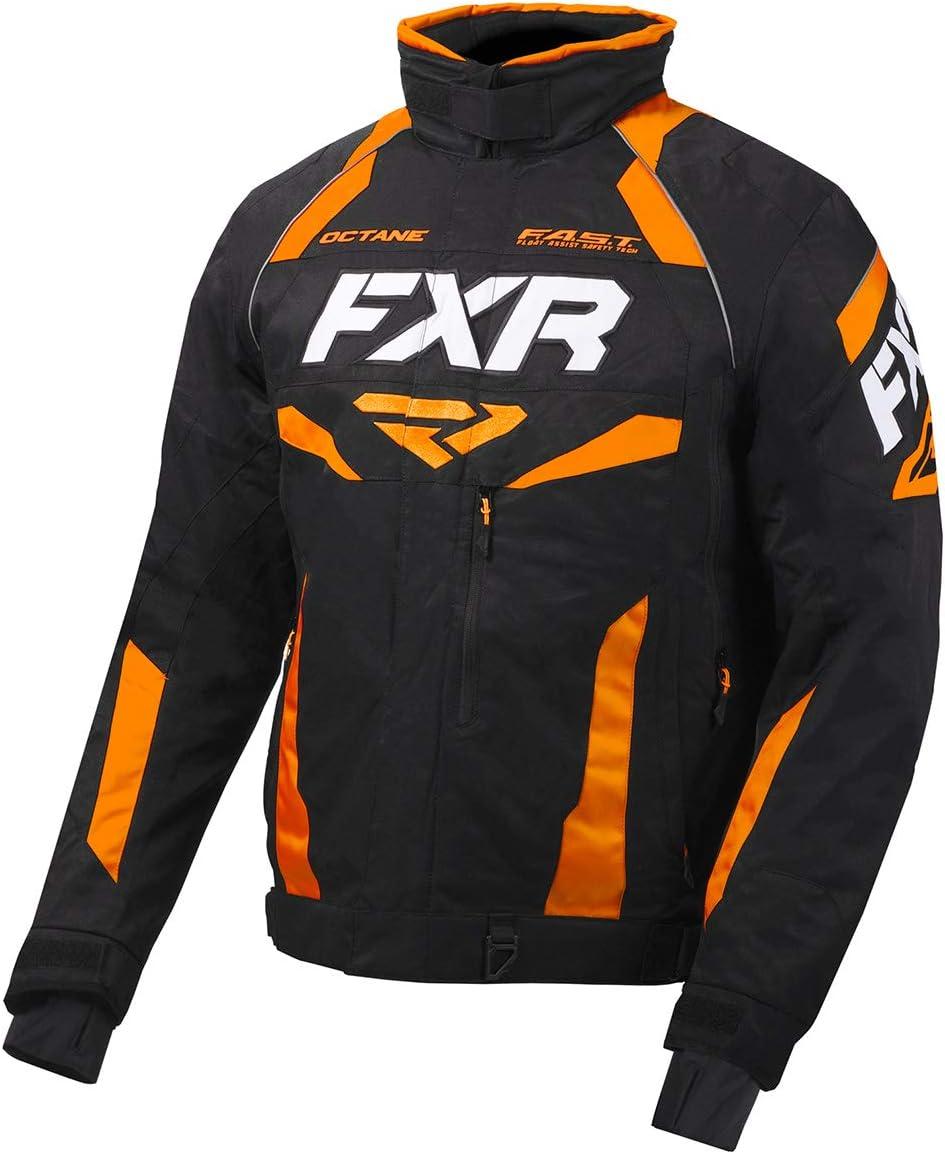 Black//Lime - Medium FXR Mens Octane Jacket