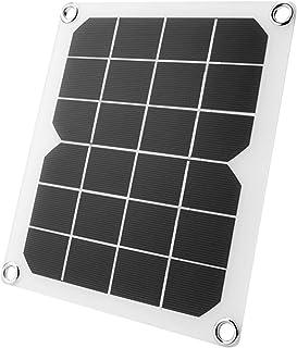 WANGYONGQI IP65 imperméable à l'extérieur 5V 10W Semi-Flexible Panneau Solaire Chargeur Solaire Charger Charge pour téléph...