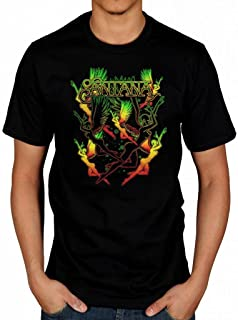 Official Santana Dancing Angels T-Shirt Latin Rock Band Corazón Shape Shifter Abraxas