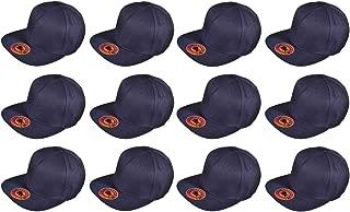 BK Caps Dozen Pack Wholesale Lot Flat Bill Blank Snapback Hats