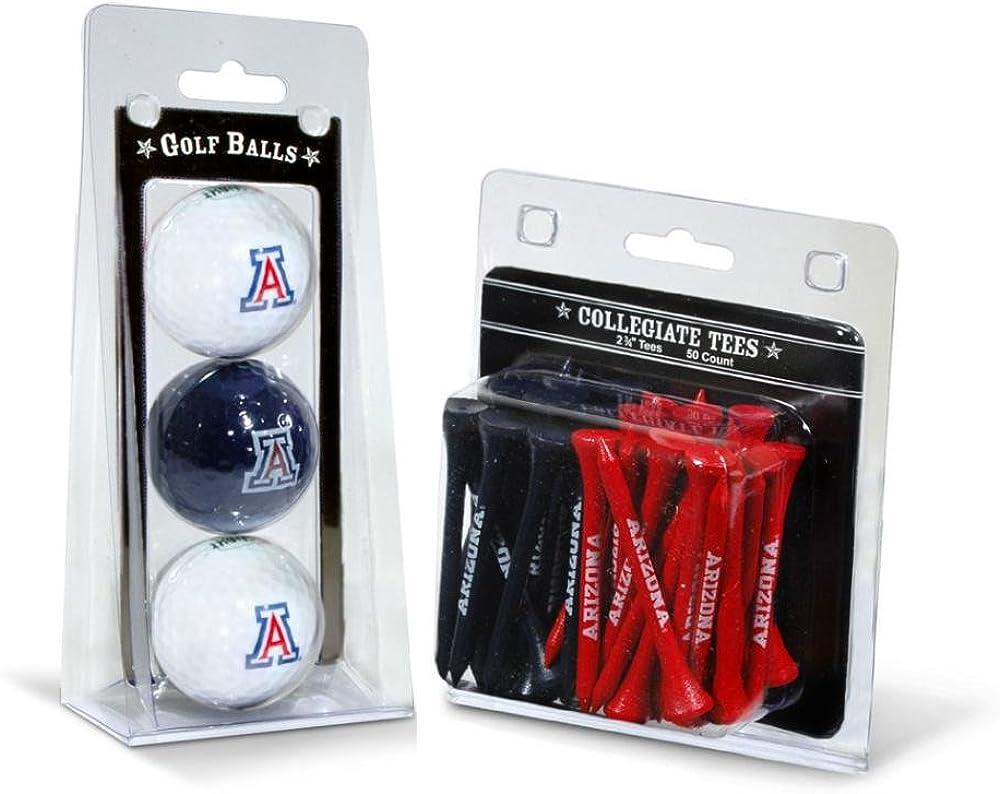 Team 5 popular Golf NCAA San Diego Mall Adult-Unisex 3 Balls and Tees 50
