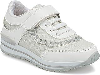 512297.P Beyaz Kız Çocuk Spor Ayakkabı
