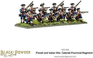 Warlord Games, Black Powder, Colonial Provincial Regiment, Wargaming Miniatures