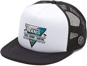 Vans Off The Wall Men's VTCS Logo Triple Crown of Surfing Trucker Hat Cap
