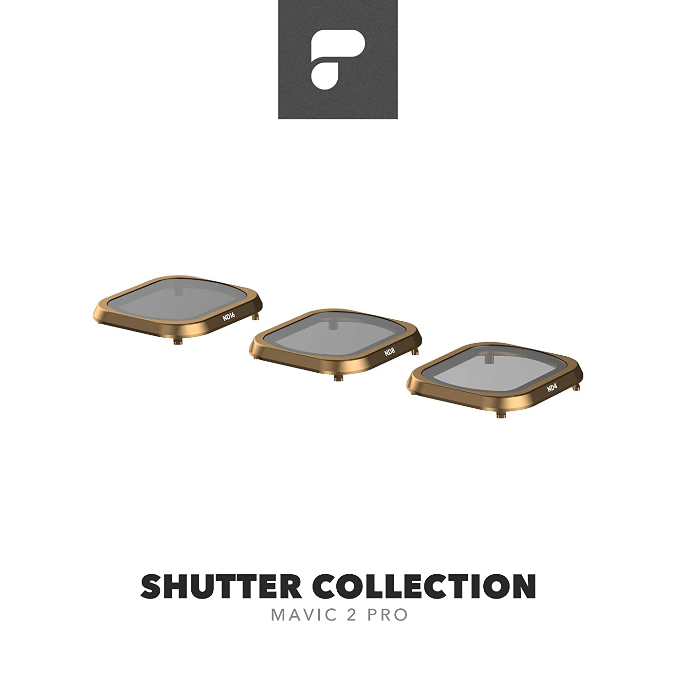 PolarPro Shutter Collection (ND4, ND8, ND16 Mavic 2 Filters) for DJI Mavic 2 Pro