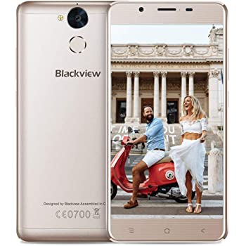 Blackview P2-6000mAh batería Smartphone Libre Dual SIM 4G (Octa ...