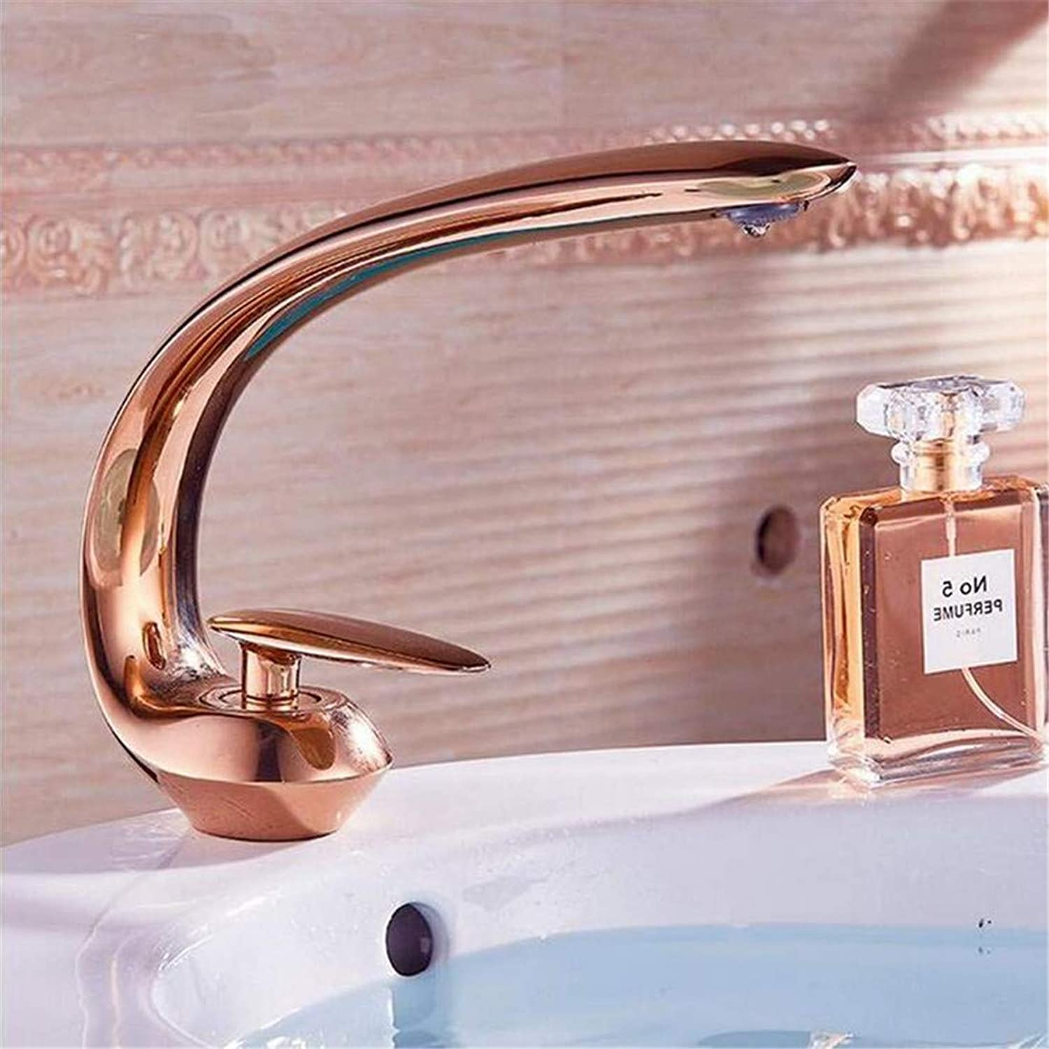 Retro Tap Modern Luxury Vintage Platingcold Dark Retro Art Basin Faucet Single Hole Leading gold Tap