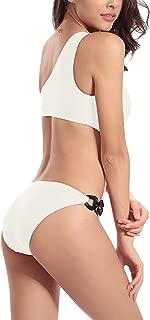 Linda Per Comfortable Women's Sexy One Shoulder One Piece Bikini Swimsuit