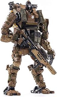 JOYTOY 1/18 Action Figures 09th Legion-Fear(Assault) Armor Anime Figure Collection Model Dark Source Toys (Brown)