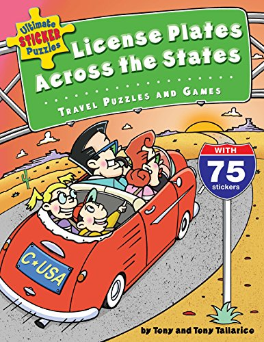 Compare Textbook Prices for Ultimate Sticker Puzzles: License Plates Across the States: Travel Puzzles and Games Act Edition ISBN 9780843177374 by Tallarico, Tony,Tallarico, Tony
