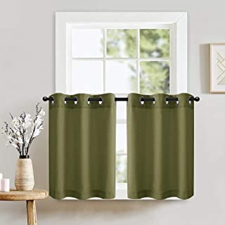 bathroom window privacy curtains