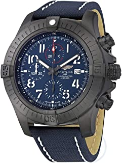Super Avenger Chronograph 48 Night Mission Automatic Blue Dial Men's Watch V13375101C1X1