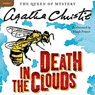 Death in the Clouds audiobook cover art