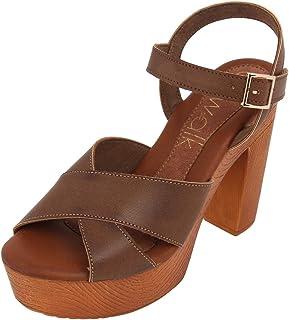 Catwalk Women's Cross Ankle Strap Sandals