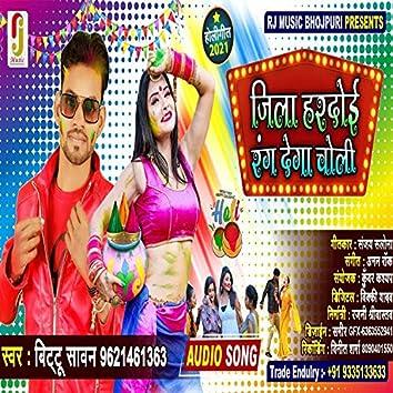 Jila Hardoi Rang Dega choli