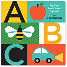 Petit Collage ABC My First Touch & Feel Alphabet Board Book, 1 EA