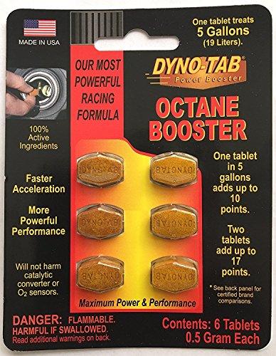 Dyno-tab Octane Booster 6-tab Card