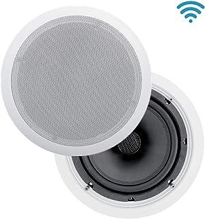 KEiiD in-Ceiling Speaker HiFi (8 inch WiFi, Pair)