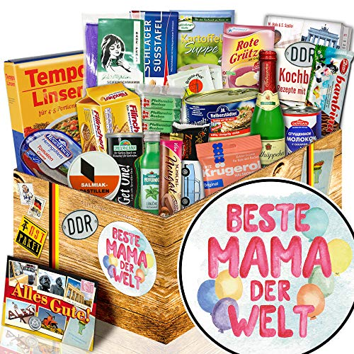 Beste Mama Set / Spezialitäten Set DDR / Geburtstagsgeschenke