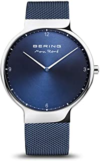 BERING Mens Analogue Quartz Watch with Stainless Steel Strap 15540-307
