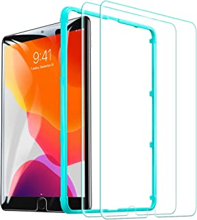 ESR [2 Pack] Tempered-Glass Screen Protector for iPad 10.2 2019 (7th Gen)/iPad Air 3/iPad Pro 10.5 [Free Installation Frame] [Scratch-Resistant] HD Clear Premium Tempered-Glass Screen Protector