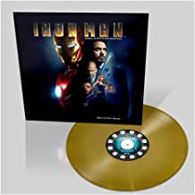 Iron Man: The Original Motion Picture Soundtrack -Exclusive Gold Colored Vinyl Limited 500 Copies