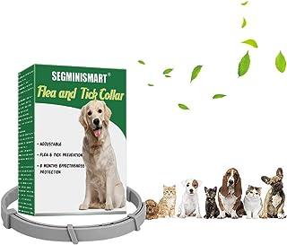 SEGMINISMART Collar Antiparasitos Perros,Collar de pulgas,Collar Antiparasitos para Perros y Gatos,Collar Anti Mosquitos T...