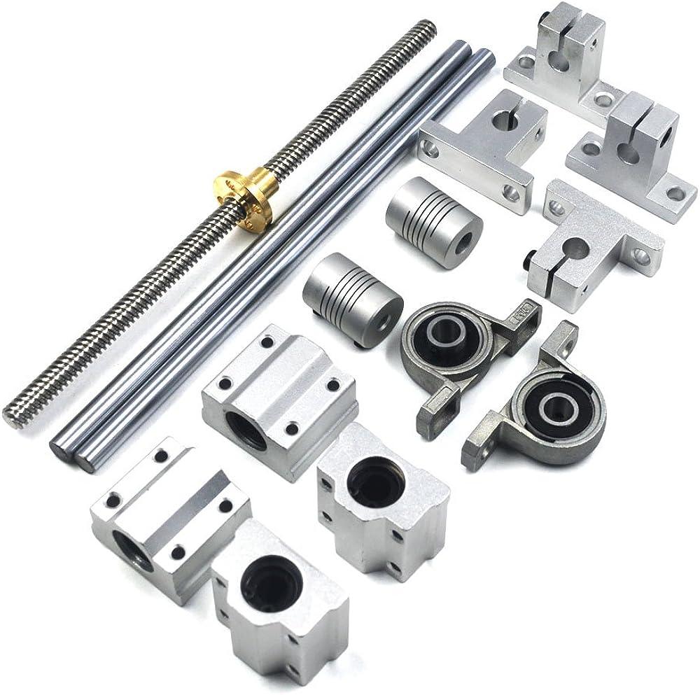 Mergorun Long-awaited 200mm Horizontal Optical Axis Ranking TOP5 Lead Rai 8mm Screw Dual