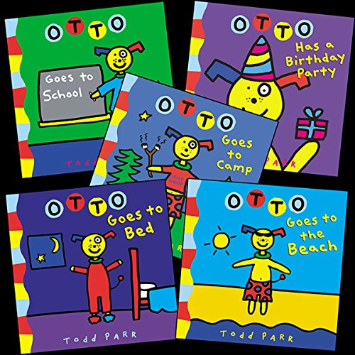 Todd Parr's Otto Bundle audiobook cover art