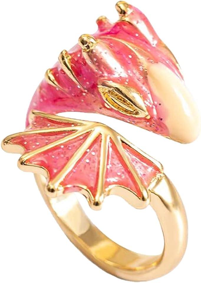 Damen Mädchen Ring Offener Verstellbare Initiale Mehrfarbig Ringe Anfangsbuchstabe Ring Frauen Statement Ring Party Ring