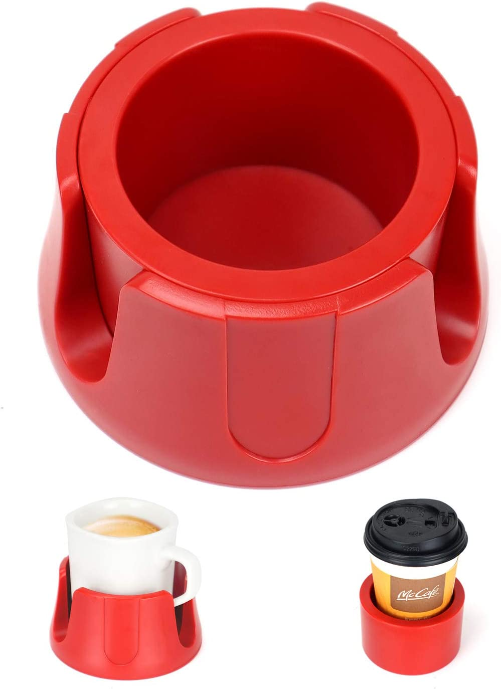 Anti-Spill Import Cup Holder Drink Coaster with Drin Mat Anti-Slip Fits Max 55% OFF