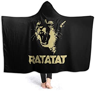 AnnaBGuillaume Ratatat Wildcat Comfortable Super Soft Ultra-Soft Micro Fleece Blanket 50