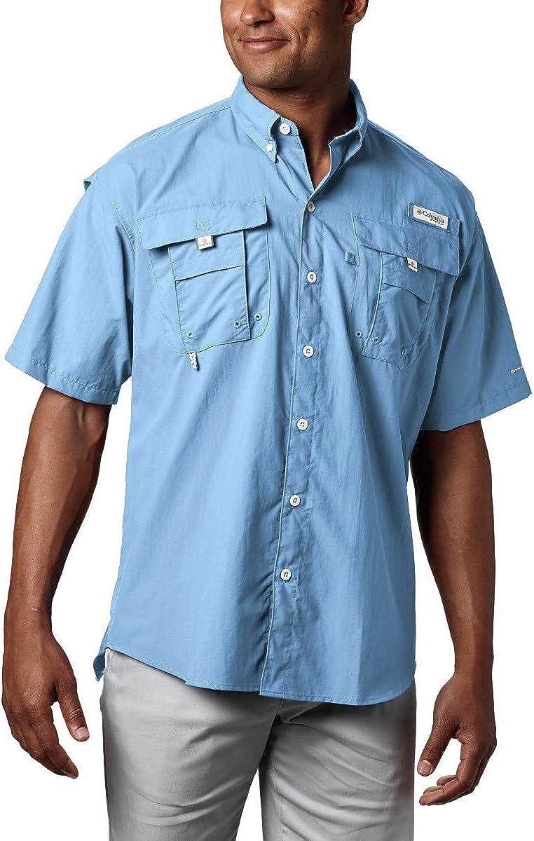 Columbia Men's PFG Bahama II UPF 30 Short Sleeve Fishing Shirt