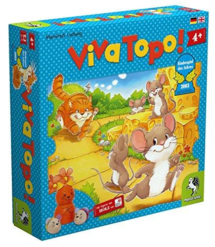 Pegasus Spiele 66003G Viva Topo Kinderspiel des Jahres 2003 Game