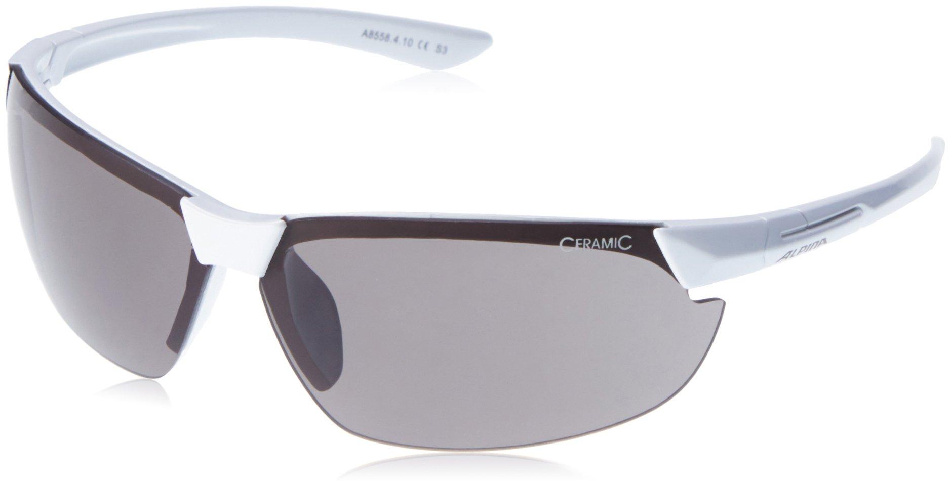 Alpina Sonnenbrille Amition Draff, White, One Size