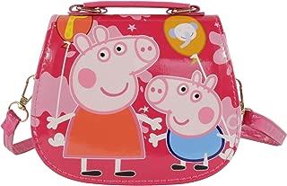 HXQ Little Pink Pig Toys Bags,Princess Crossbody Purse Handbag for Kids Girls Toddlers Preschoolers