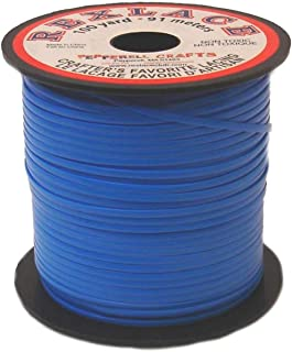 "Pepperell Rexlace Plastic Lacing .0938"" X100yd-Neon Blue"
