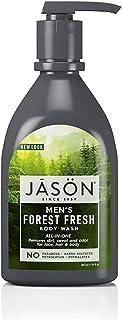 JASON Men's Forest Fresh All-In-One Body Wash, 30 Ounce Bottle