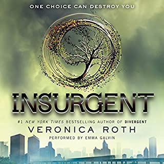 Insurgent     Divergent, Book 2              Written by:                                                                                                                                 Veronica Roth                               Narrated by:                                                                                                                                 Emma Galvin                      Length: 11 hrs and 22 mins     36 ratings     Overall 4.6