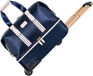 Bolsa de Deporte para Gimnasio Campo de Deportes tela de lana basta del bolso de la carretilla de la maleta del bolso del ...