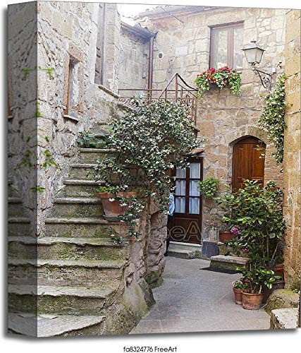Pitigliano (Tuscany, Italy) Gallery Wrapped Canvas Art (14in. x 11in.)